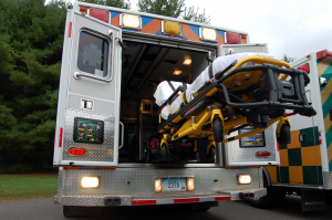 STRYKER Power Load Stretcher - Aetna ASM Ambulance