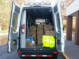'Emergency of Hunger' Food Drive: 2012 Weekend #1