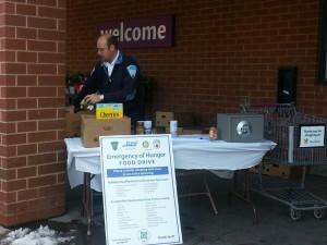 'Emergency of Hunger' Food Drive: 2012 Weekend #1