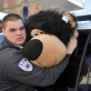 ASM Paramedic Dan Slomcinsky gets up close and personal