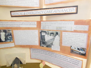 History Competition Won with Hartford Circus Fire Project featuring Aetna Ambulance