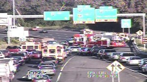 ASM Responds: School Bus Accident on I-84 In East Hartford
