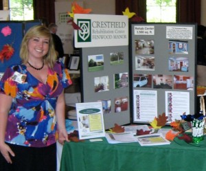ASM to Appear at Crestfield Rehabilitation Center's Wellness Fair