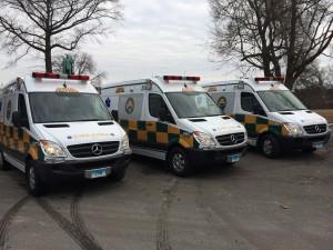 Aetna Grows Fleet by Three Ambulances