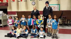 East Hartford Daisy Troop Visited by ASM Crew