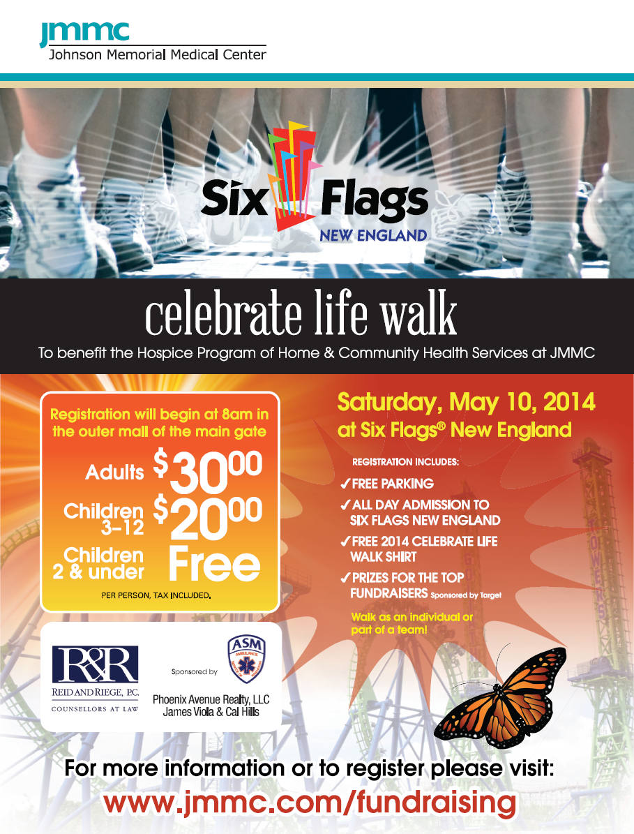 ASM Supports JMMC's 2014 'celebrate life walk' at Six Flags