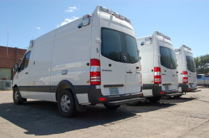 Three Sprinter Ambulances Arrive to Replace Last Fords