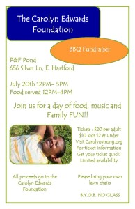 BBQ Fundraiser To Benefit Carolyn Edwards' Recovery