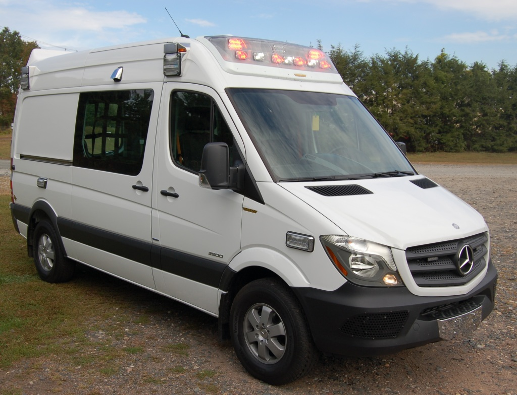 2014 Mercedes Sprinter Ambulance A