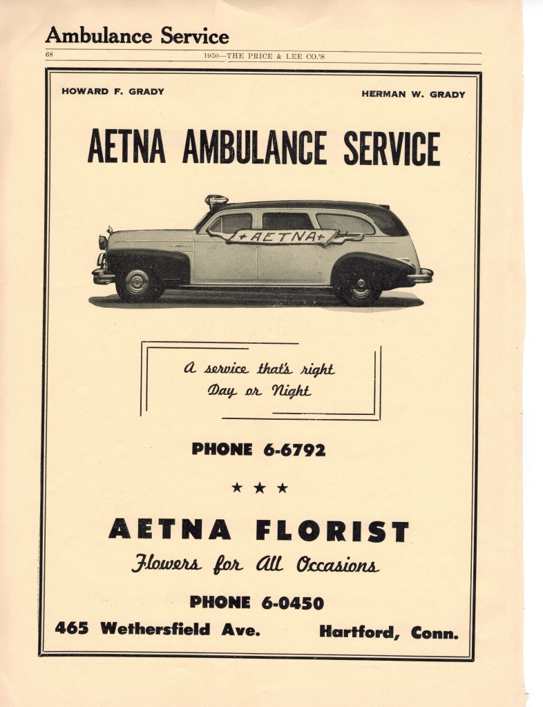 Historical Photos: Aetna Ambulance Service #8