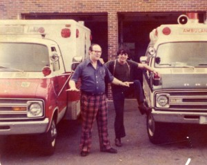 Ambulance Service of Manchester - Manchester Ambulance 1 Roger Talbot, Frank Axiak