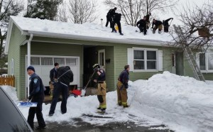 Manchester First Responders Finish Shoveling Job After Homeowner Dies
