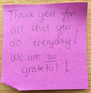 A little note of gratitude on EMS Week
