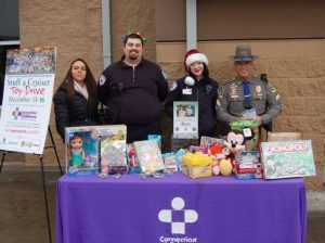CT Children's and State Police Toy Drive in Pictures – 2018
