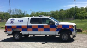 ASM Puts New Paramedic Intercept Vehicle in Service