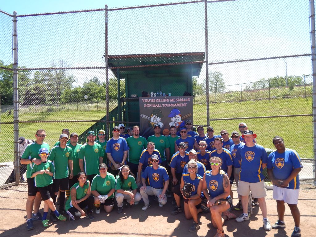 Inaugural ASM vs Aetna Softball Game