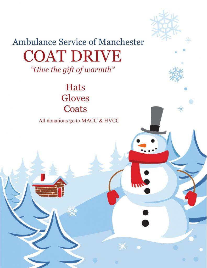 ASM's Laura McHugh Initiates Annual Coat Drive