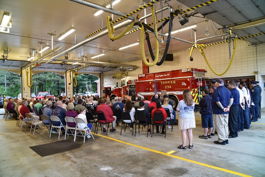 ASM attends 9-11 event in Bolton
