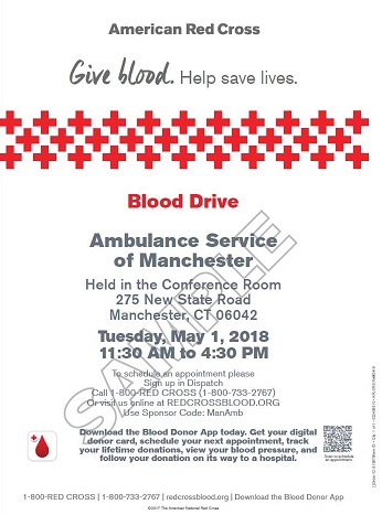 ASM Host's American Red Cross Blood Drive