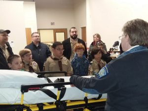 Manchester Cub Scout Troop Visits ASM