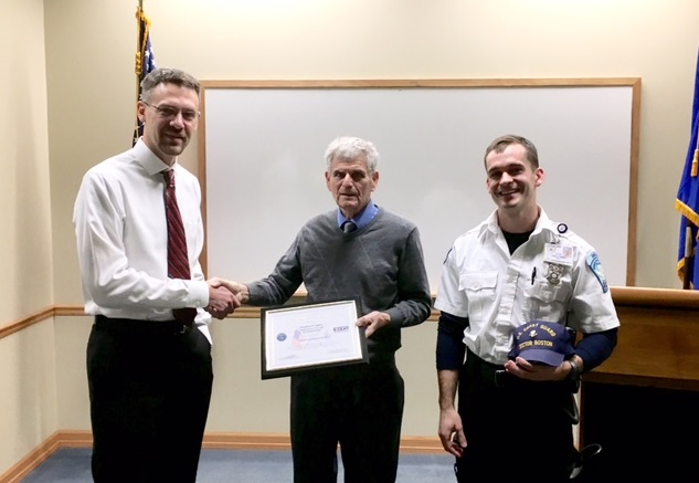 ASM Director of Operations Receives Patriotic Employer Award