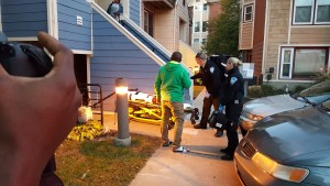 Aetna Ambulance Crew Assists Film Crew