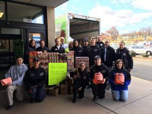 Aetna Participates in Wethersfield First Responder Food Drive