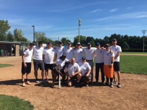 ASM Plays in Charity Softball Tournament