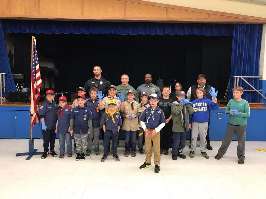 Aetna Teams up with CREST and WPD for Cub Scout Event