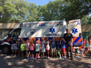 "ASM Attends ""Touch a Truck"" Event in Manchester"