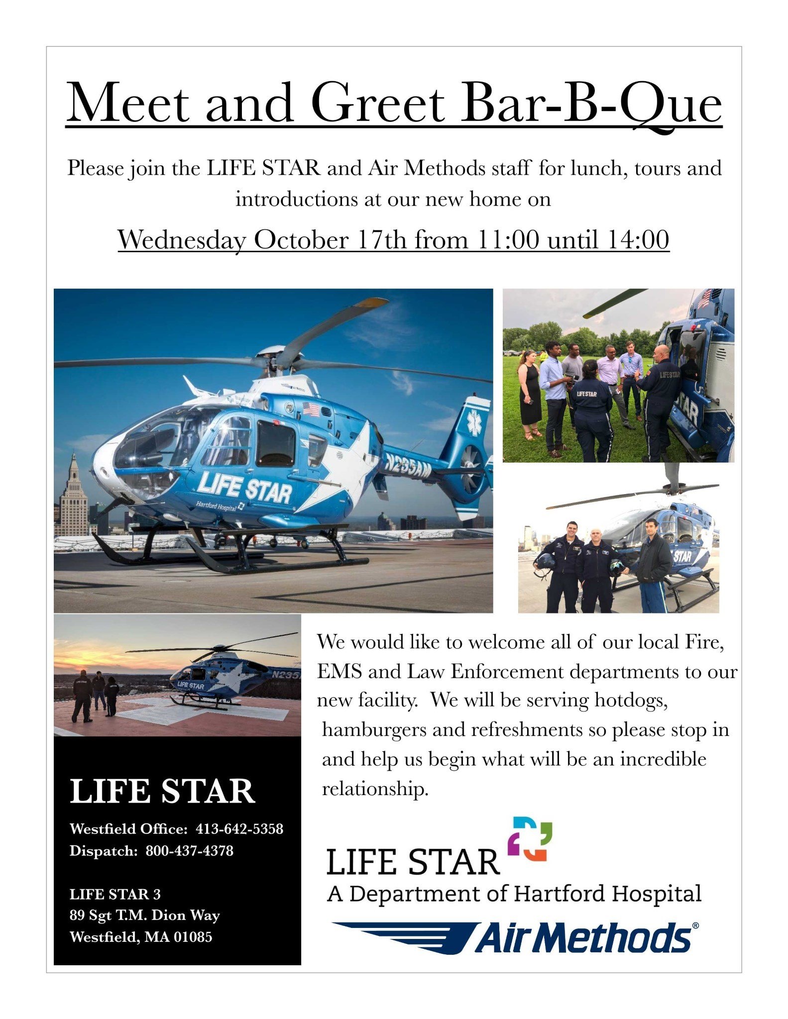 LIFE STAR Emergency Services BBQ