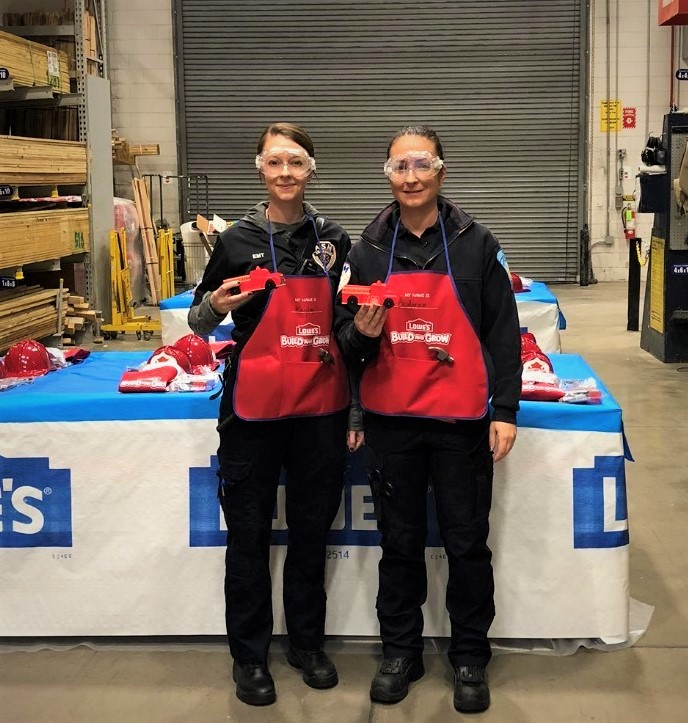 ASM Lends a Hand for Lowe's Safety Day
