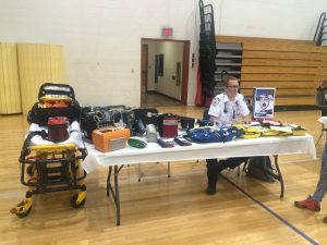 ASM at Manchester High School Health Fair, 2016