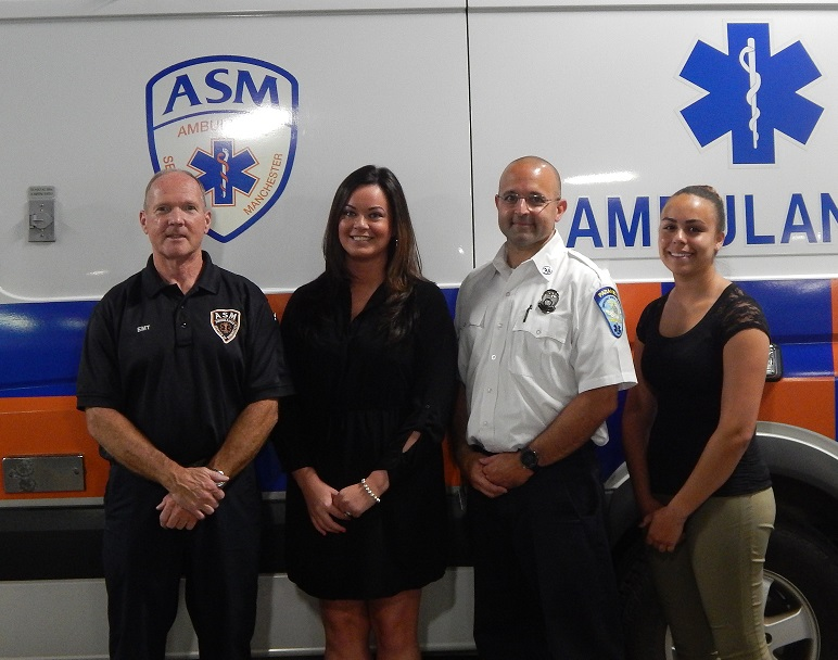 Patient Thanks ASM Crew in Person