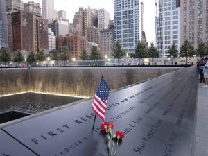 ASM Attends 9/11 Tribute in Manchester