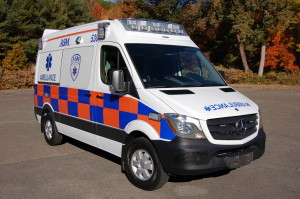 Newest Ambulance Livery Deployed on ASM's Mercedes Sprinters