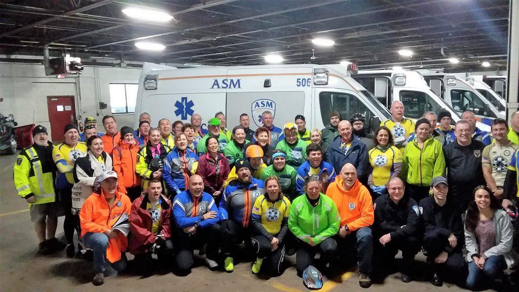 ASM hosts National EMS Memorial Bike Ride