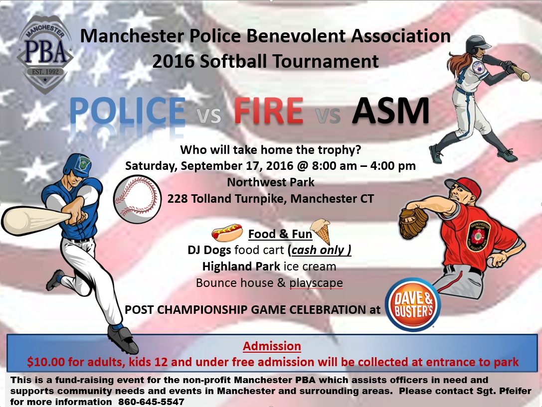 Come Cheer on ASM in 2016 Softball Tournament