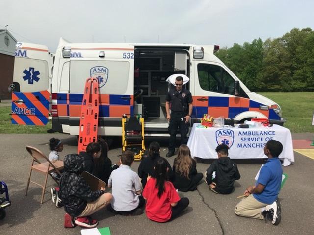 ASM Visits Pitkin Elementary School