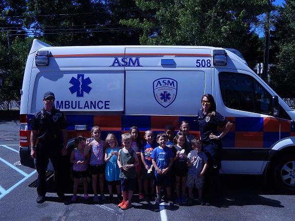 ASM Visits South Windsor KinderCare