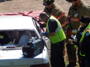 ASM Participates in Mock Crash Event in Somers
