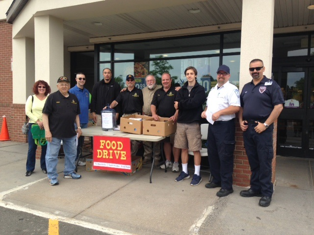 ASM Participates in Weekend Food Drive in South Windsor, 2016