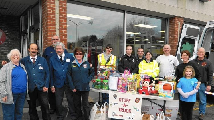 Stores, Emergency Personnel 'Stuff A Truck' To Help Families