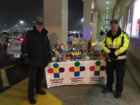 CT Children's and State Police Toy Drive in Pictures – 2017