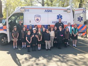 ASM Visits Manchester Girl Scout Troop