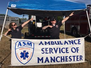ASM On Hand at the Wapping Fair in South Windsor, 2016