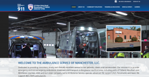 Ambulance Service of Manchester Launches New Website!