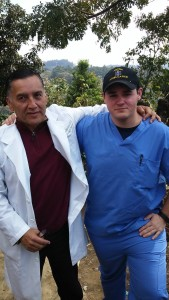 Dr. Rafael Vela and myself nearing the end of a successful week of clinics.