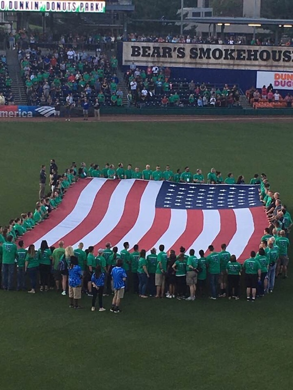 ASM & Aetna Attend Yard Goats First Responder's Game