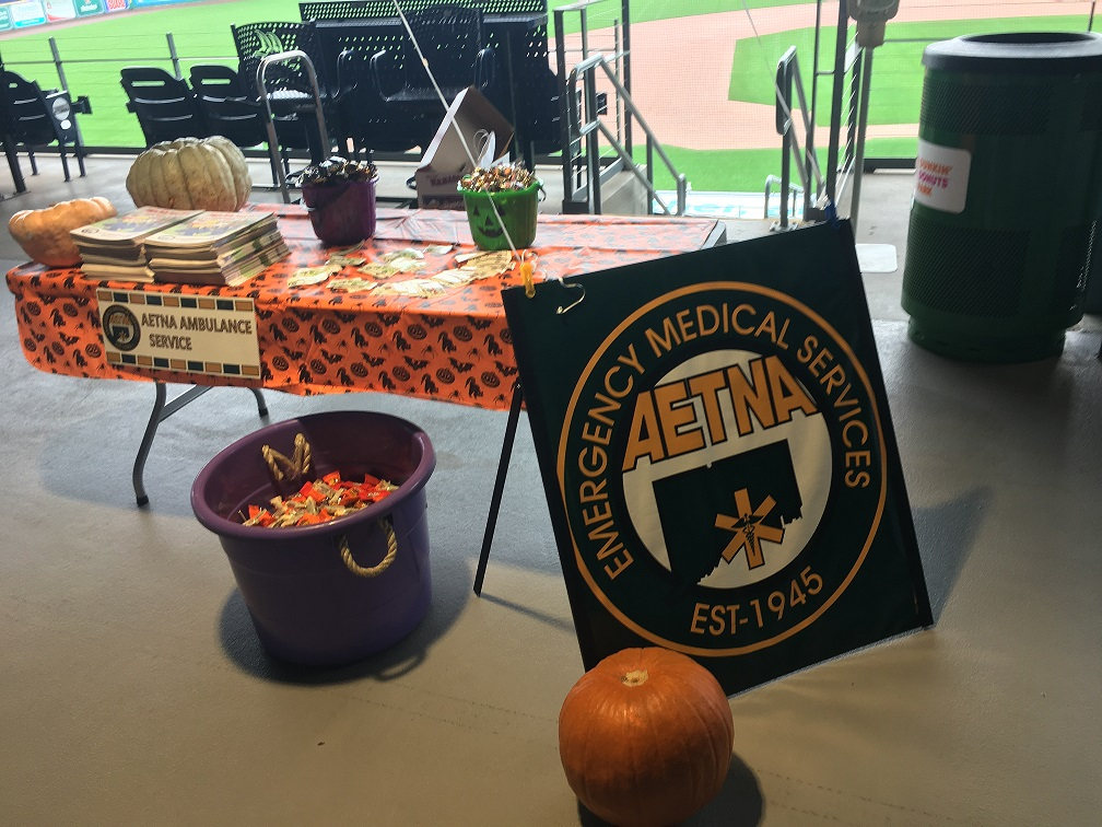 Aetna Participates in Hartford Yard Goats Halloween Event!